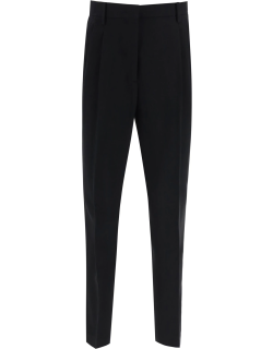 N.21 CROPPED CLASSIC TROUSERS 42 Black