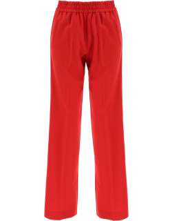 GOLDEN GOOSE BRITTANY SPORTS TROUSERS 40 Red Wool
