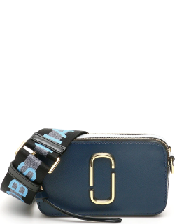 MARC JACOBS (THE) THE SNAPSHOT SMALL CAMERA BAG OS Blue, Black, Grey Leather