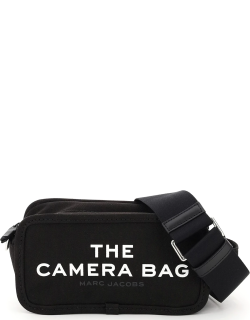 MARC JACOBS (THE) THE CAMERA BAG SMALL OS Black, White Cotton