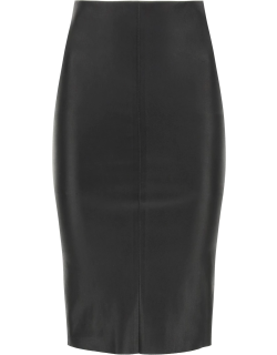 DROME PENCIL SKIRT IN NAPPA M Black Leather