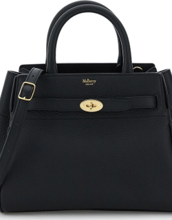 MULBERRY BELTED BAYSWATER SMALL BAG OS Black Leather