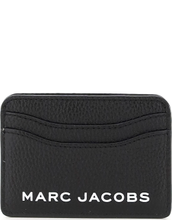 MARC JACOBS (THE) THE BOLD CARD HOLDER OS Black, White Leather
