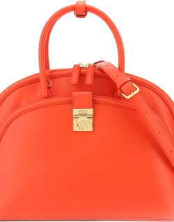 MCM ANNA LARGE BAG OS Red Leather