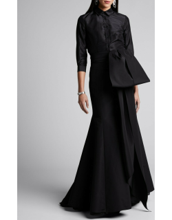 Icon Knotted Trumpet Skirt