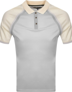 Ted Baker Volume Polo T Shirt Grey
