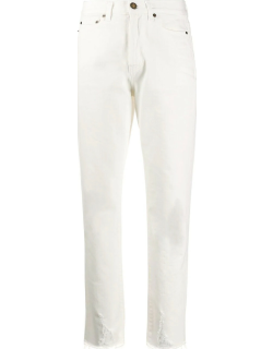 White carrot jeans