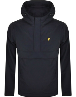 Lyle And Scott Fleece Lined Hooded Jacket Navy