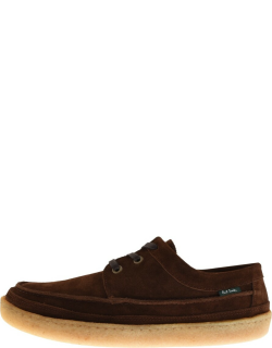 PS By Paul Smith Bence Suede Shoes Brown