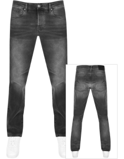 G Star Raw 3301 Straight Tapered Jeans Grey