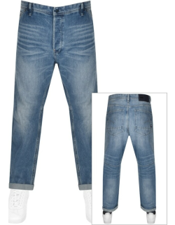 G Star Raw Grip 3D Relaxed Tapered Jeans Blue