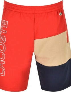 Lacoste Sport Jersey Shorts Red