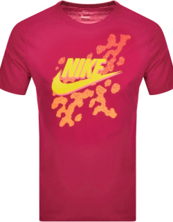Nike Crew Neck Beach Party T Shirt Pink