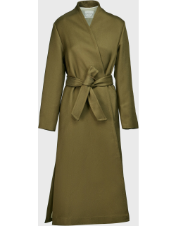 Forte Forte Woven Belted Coat,