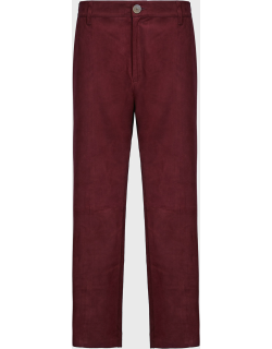 Forte Forte Flared Suede Trousers,