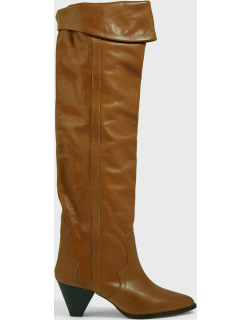 Isabel Marant Remko Knee-High Leather Boots,