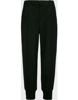 3.1 Phillip Lim Front-Seam Tapered Trousers,