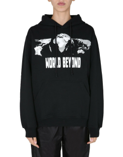 mcq relaxed fit sweatshirt
