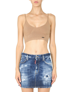 dsquared knitted top