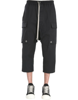 rick owens cropped cargo pants