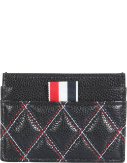 thom browne leather card holder