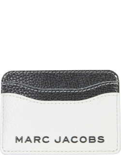 marc jacobs two-tone leather card holder