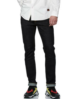 Stretch Skinny-fit Jeans with Seagull and EVISU 91 Silicon Badges