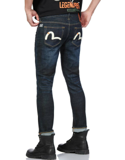 Seagull Printed 2023 Stretch Skinny-fit Cropped Jeans