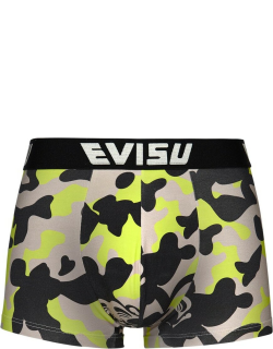 Allover Camouflage Printed Trunks