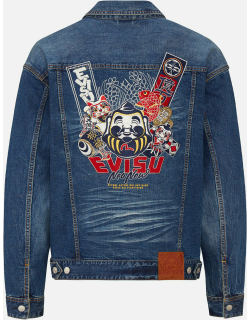 Godhead and Lucky Charms Embroidered Denim Jacket