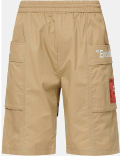 Curved Panel Cargo Shorts