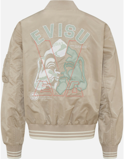 Patched Seagull and Godhead Bomber Jacket