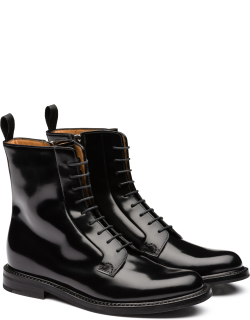 Church's Polished Binder Lace Up Boot Woman Black