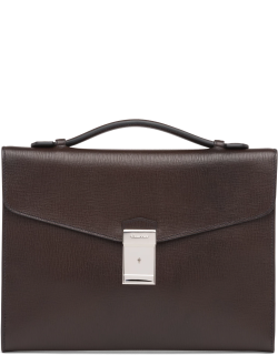 Church's St James Leather Document Holder Man Coffee