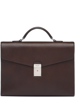 Church's St James Leather Briefcase Man Coffee