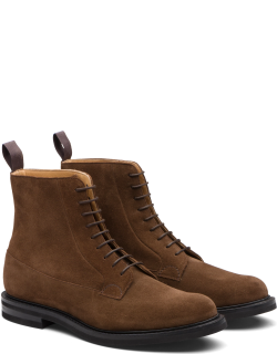 Church's Suede Lace-up Derby Boot Man Sigar