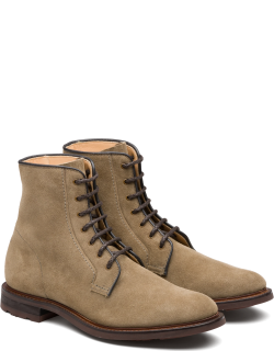 Church's Suede Lace Up Boot Man Stone