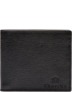 Church's St James Leather 4 Card & Coin Wallet Man Black