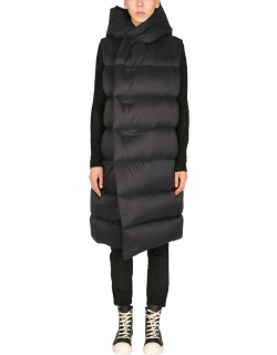 rick owens quilted vest