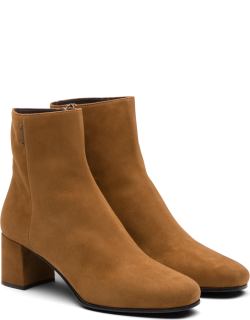Church's Suede Heeled Boot Woman Tabac