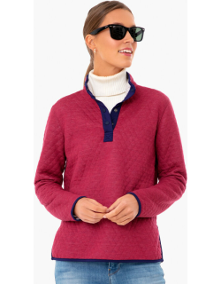 Cabernet Reversible Lady Corbet Pullover