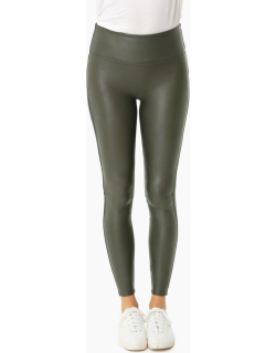 Olive Ready To Wow Faux Leather Leggings