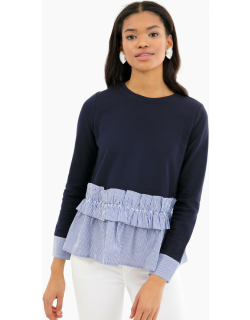 Clementine Ruffle Knit Top