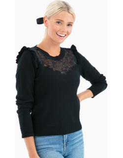 Emilie Embroidered Pullover