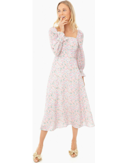 Mint Candy Floral Willow Dress