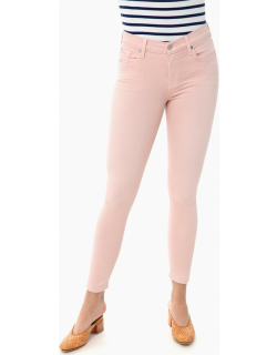 Pink Tint Ankle Skinny Jeans