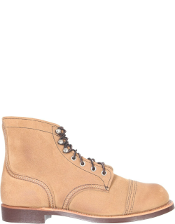 red wing iron ranger lace-up boots