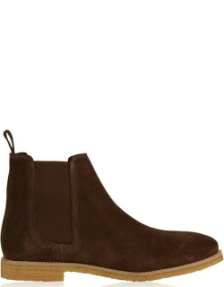MALLET Elmore Chelsea Boots - Chocolate