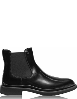 TODS Patent Chelsea Boots - Black B999