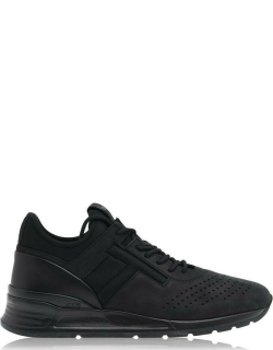 TODS Stitch Logo Trainers - Blk/BLk B999